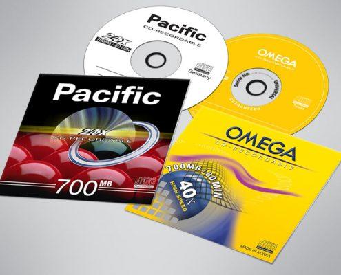 نمونه کار سی دی